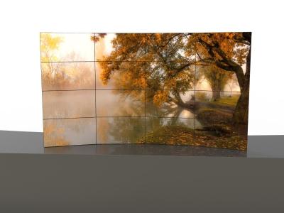 46寸 液晶拼接屏 3.5mm超窄边拼缝